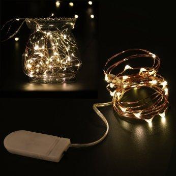 guirlande à LED en cuivre