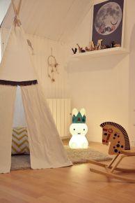 chambre enfant tipi