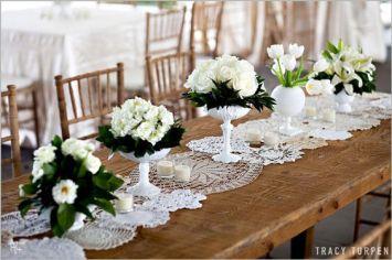 inspirations mariage napperons