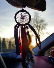 mini attrape rêves de voiture