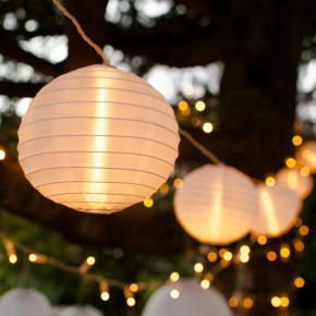 lampions lumineux