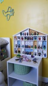 maisonnette en bois à casiers 8