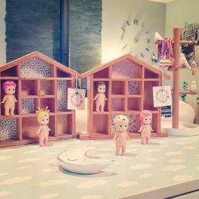 maisonnette en bois à casiers 6