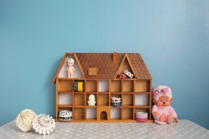 maisonnette en bois à casiers 4