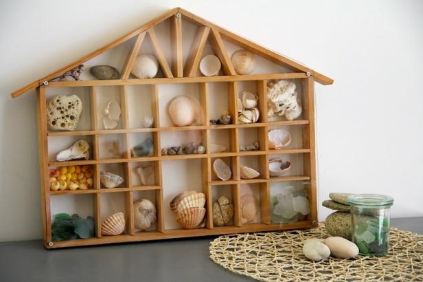 maisonnette en bois à casiers 9