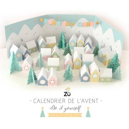 calendrier de l'avent Zu DIY