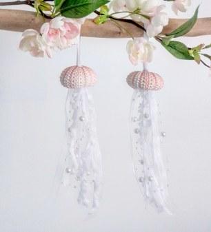 méduses aériennes oursins